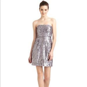 BCBGMaxAzria Carole Sequin Cocktail Dress-Lilac
